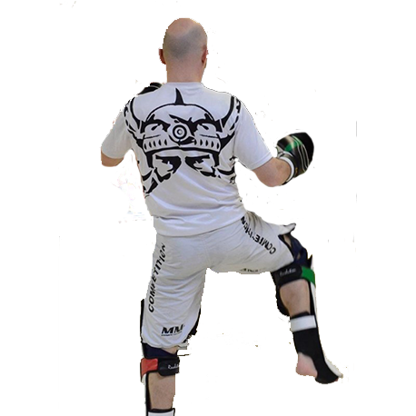 Photo de Tee-Shirt Dry-Fit Barbarians Fight Wear Blanc pour Dry-Fit_Dri-Fit DRY-FIT