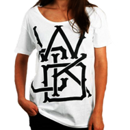 Photo de T-Shirt Wicked One Swinger Blanc femme en coton pour Ancienne Collection 2013TFS
