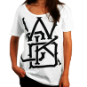 Wicked One Swinger white women cotton Tee Shirt images, photos, pictures on Sales 2013TFS