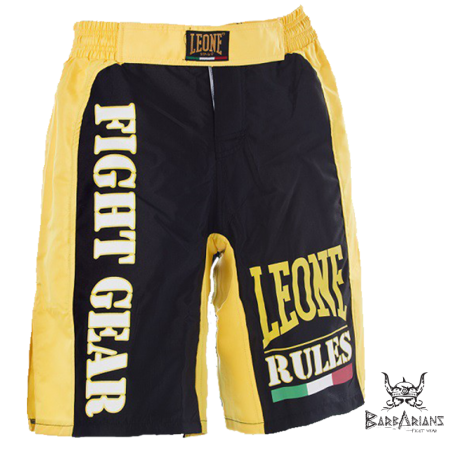 Leone 1947 MMA short RULES Yellow images, photos, pictures on MMA & Val Tudo Shorts AB776