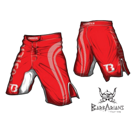 "Short MMA Booster Fight Gear ""Pro Shade"" rouge"