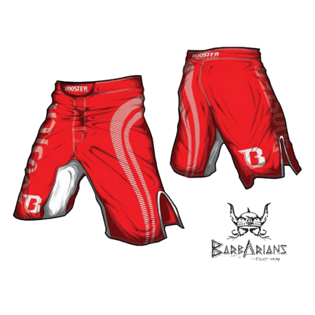Booster Fight Gear MMA Shorts Pro Shade red images, photos, pictures on Old Collection MS-BG-PS03