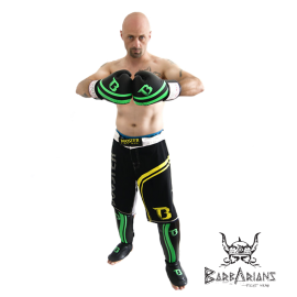 Booster Fight Gear MMA Shorts Pro Schwarz Und Gelb
