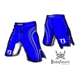 "Booster Fight Gear MMA Shorts ""Pro Shade"" blue"