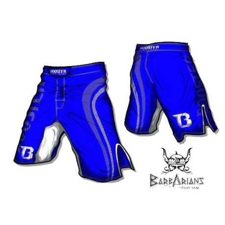 "Booster Fight Gear MMA Shorts \""Pro Shade\\"" blue images, photos, pictures on Old Collection MS-BG-PS01"
