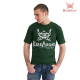Barbarians Fight Wear t-shirt Green cotton elastane images, photos, pictures on Old Collection tee-vert Barbarians 01