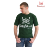 Photo de Tee-shirt Barbarians Fight Wear Vert Coton elastane pour Tee-Shirt tee-vert Barbarians 01