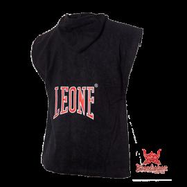 Leone 1947 Boxen Poncho schwarz