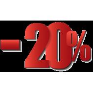 Sales -20%