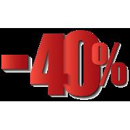 Sales -40%
