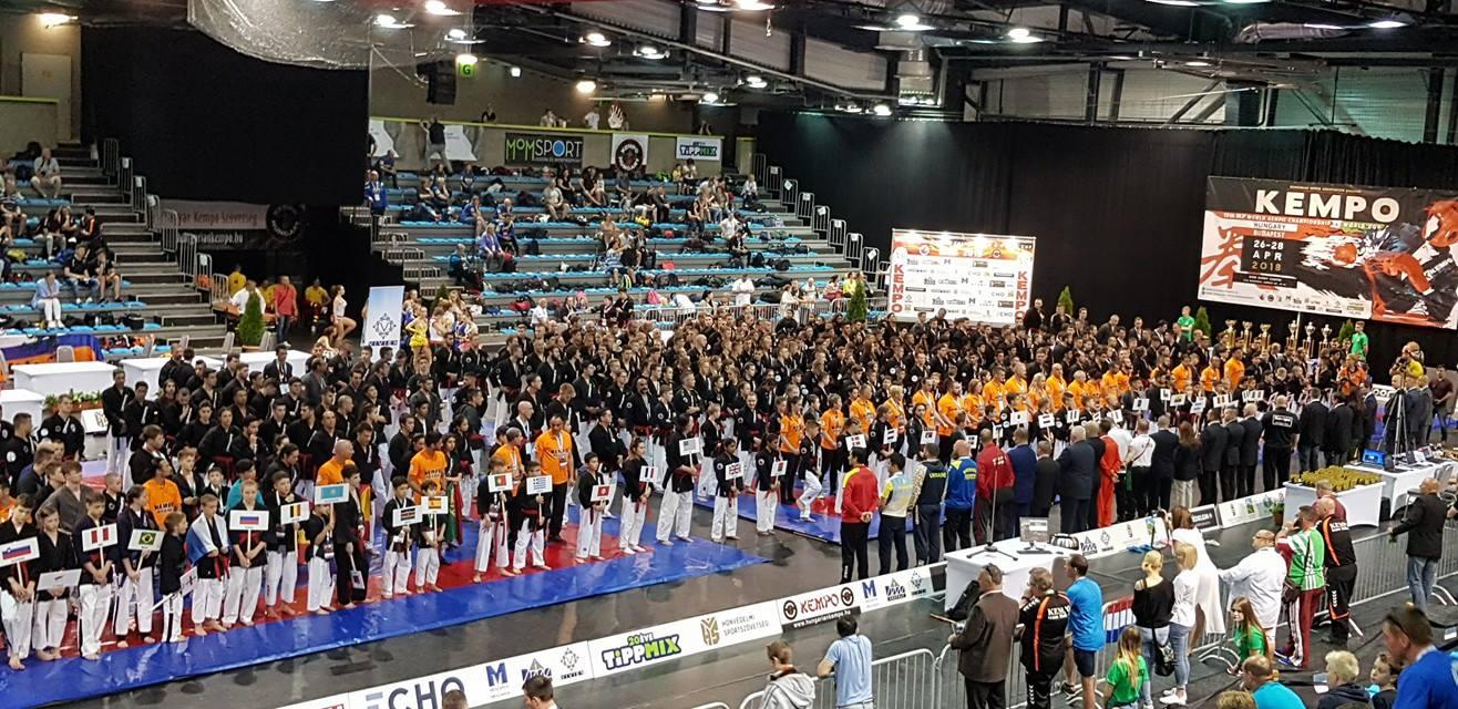Maxime Volkov championnat du monde Kempo Budapest 2018 sambo MMA
