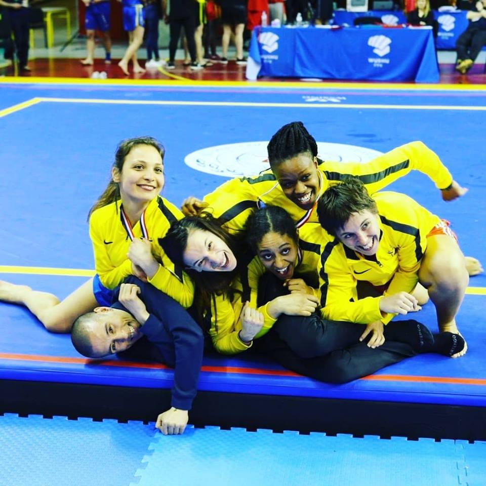 championnat france sanda 2018 barbarians fight wear Gong Academie